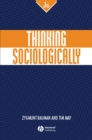 Thinking Sociologically - eBook