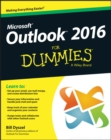 Outlook 2016 For Dummies - Book
