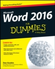 Word 2016 For Dummies - Book