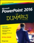 PowerPoint 2016 For Dummies - Book