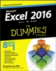 Excel 2016 All-in-One For Dummies - Book