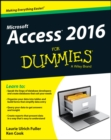 Access 2016 For Dummies - eBook