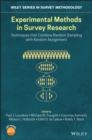 Experimental Methods in Survey Research : Techniques that Combine Random Sampling with Random Assignment - eBook