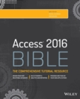 Access 2016 Bible - Book