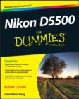 Nikon D5500 For Dummies - Book