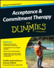 Acceptance and Commitment Therapy For Dummies - Book