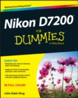 Nikon D7200 For Dummies - Book