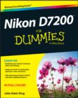 Nikon D7200 For Dummies - eBook