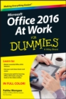 Office 2016 at Work For Dummies - eBook