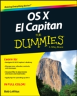 OS X El Capitan For Dummies - Book