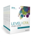 Wiley Study Guide for 2016 Level I CFA Exam: Complete Set - Book