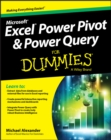 Excel Power Pivot and Power Query For Dummies - eBook