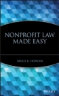 Nonprofit Law Made Easy - eBook