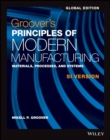Groover's Principles of Modern Manufacturing - Book