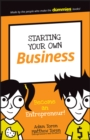 Starting Your Own Business : Become an Entrepreneur! - Book