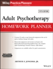 Adult Psychotherapy Homework Planner - Book