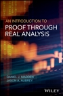 An Introduction to Proof through Real Analysis - eBook