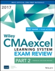 Wiley CMAexcel Learning System Exam Review 2017 : Part 2, Financial Decision Making (1-year access) Set - Book
