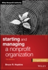 Starting and Managing a Nonprofit Organization : A Legal Guide - eBook