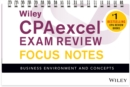 Wiley CPAexcel Exam Review January 2017 Focus Notes : Business Environment and Concepts - Book