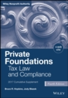 Private Foundations : Tax Law and Compliance, 2017 Cumulative Supplement - eBook