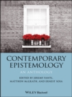 Contemporary Epistemology : An Anthology - eBook
