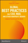 Global Best Practices for CSO, NGO, and Other Nonprofit Boards : Lessons From Around the World - eBook