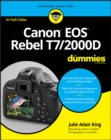 Canon EOS Rebel T7/2000D For Dummies - eBook