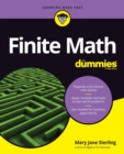 Finite Math For Dummies - Book