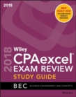 Wiley CPAexcel Exam Review 2018 Study Guide : Business Environment and Concepts - Book