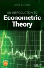 An Introduction to Econometric Theory - Book