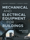 Mechanical and Electrical Equipment for Buildings - eBook