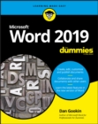 Word 2019 For Dummies - Book