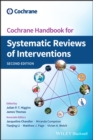 Cochrane Handbook for Systematic Reviews of Interventions - Book