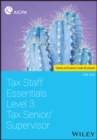 Tax Staff Essentials, Level 3 : Tax Senior/Supervisor - Book