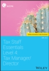 Tax Staff Essentials, Level 4 : Tax Manager/Director - Book