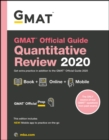 GMAT Official Guide 2020 Quantitative Review : Book + Online Question Bank - Book