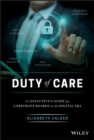 Duty of Care : An Executive's Guide for Corporate Boards in the Digital Era - eBook