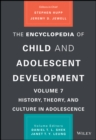 The Encyclopedia of Child and Adolescent Development - Book