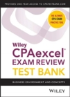 Wiley CPAexcel Exam Review 2020 Test Bank : Business Environment and Concepts (1-year access) - Book