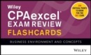 Wiley CPAexcel Exam Review 2020 Flashcards : Business Environment and Concepts - Book