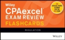 Wiley CPAexcel Exam Review 2020 Flashcards : Regulation - Book