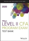 Wiley's Level II CFA Program Study Guide + Test Bank 2020 - Book