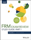Wiley's Study Guide for 2020 Part I FRM Exam Volume 2: Foundations of Risk Management - Book