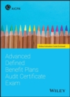 Advanced Defined Benefit Plans Audit Certificate Exam - Book