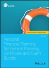 Personal Financial Planning Retirement Planning Certificate and Exam Bundle - Book