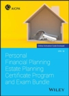 Personal Financial Planning Estate Planning Certificate Program and Exam Bundle - Book