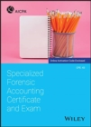 Specialized Forensic Accounting Certificate and Exam - Book
