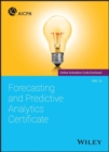 Forecasting and Predictive Analytics Certificate - Book