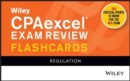 Wiley CPAexcel Exam Review 2021 Flashcards : Regulation - Book